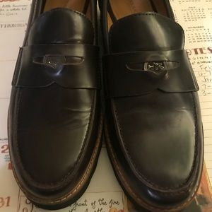 Coach women's oxblood indie loafers shoes 8
